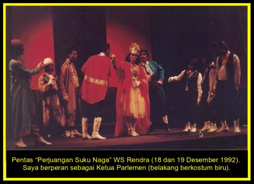 """Pentas """"Perjuangan Suku Naga"""" Teater Peron"""